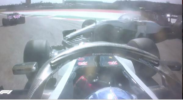 Formule 1 USA Grosjean Leclerc