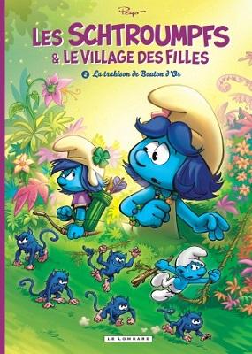 schtroumpfs-et-village-filles-t2-trahison-bouton-d-or-le-lombard