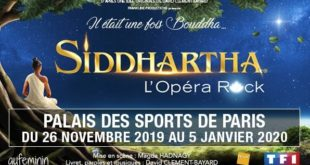 Siddharta l'Opéra Rock au Dôme de Paris
