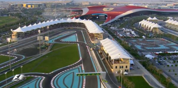 Circuit de Abu Dhabi - Formule 1 2