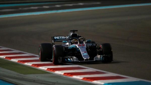 Formule 1 Abu dhabi Hamilton