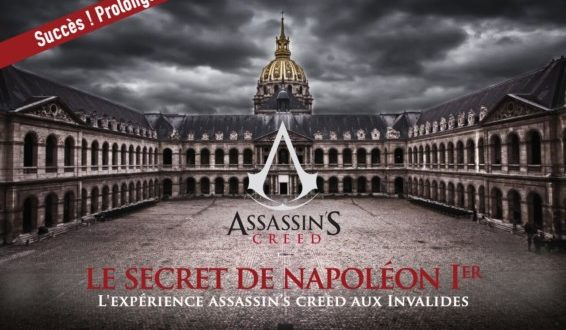 L'expérience Assassin's Creed - Le jeu immersif au coeur de l'Hôtel des Invalides !