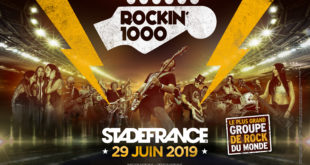 Le plus grand groupe rock du monde : 1000 musiciens au Stade de France !
