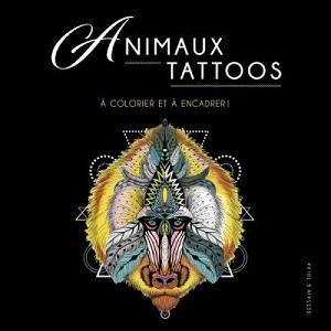 animaux-tattoos-colorier-et-encadrer-dessain-tolra