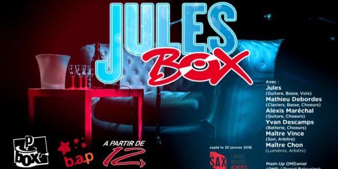 Un spectacle et un jeu ? C'est la JULES BOX !