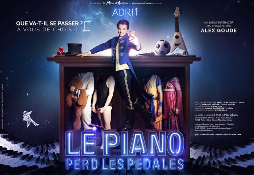 Le Piano Perd Les P U00e9dales  Mis En Sc U00e8ne Par Alex Goude