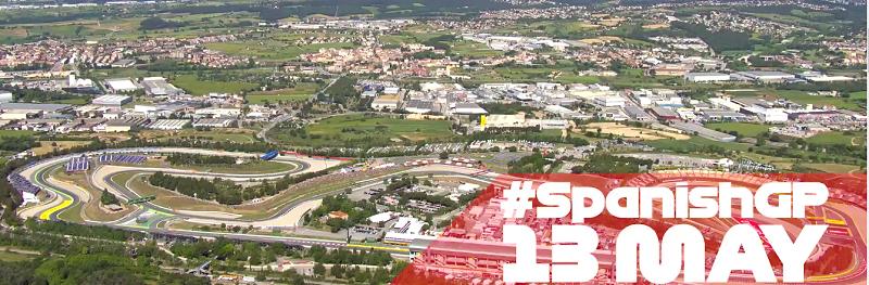 circuit d'Espagne - Formule 1