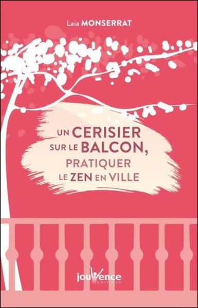 Un cerisier sur le balcon, l'occasion pour Laia Monserrat de faire naître une belle et douce allégorie.