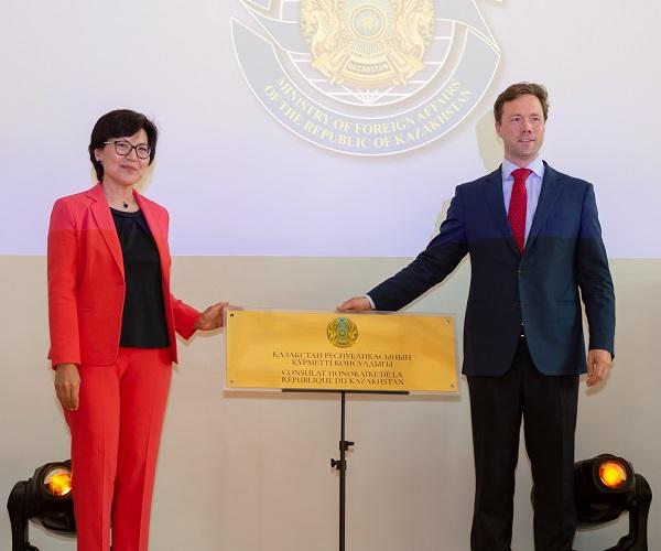 Consulat honoraire du Kazakhstan ouvre ses portes au Luxembourg