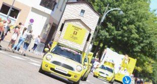 logis caravane Tour de France