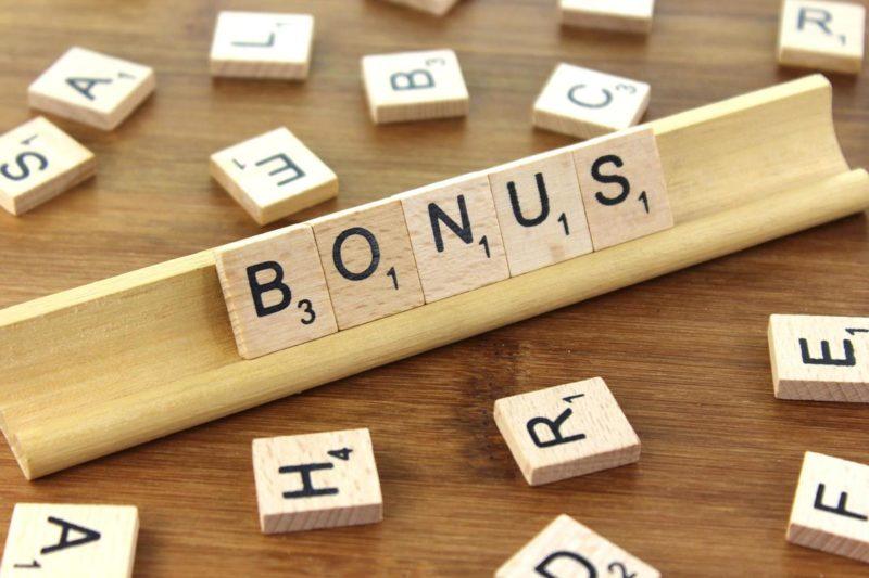 Les bonus en ligne
