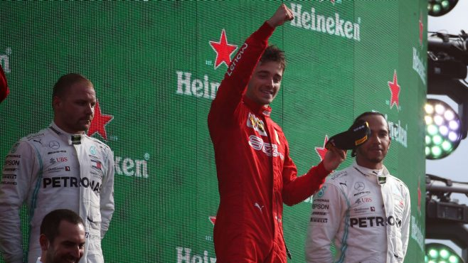 Formule 1 Italie Charles Leclerc