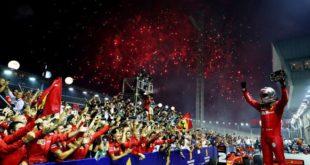 Vettel Ferrari Formule 1 GP Singapour
