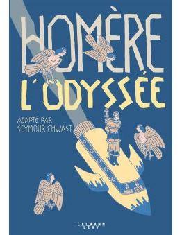 Homère L'Odyssée, adapté par Seymour Chwast, un concept original et décalé pour redécouvrir un récit d'exception.