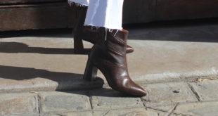 Les chaussures en cuir Fiore de Luca