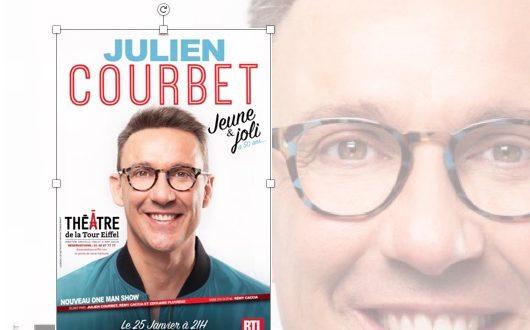 Julien Courbet, hilarant dans son one-man-show