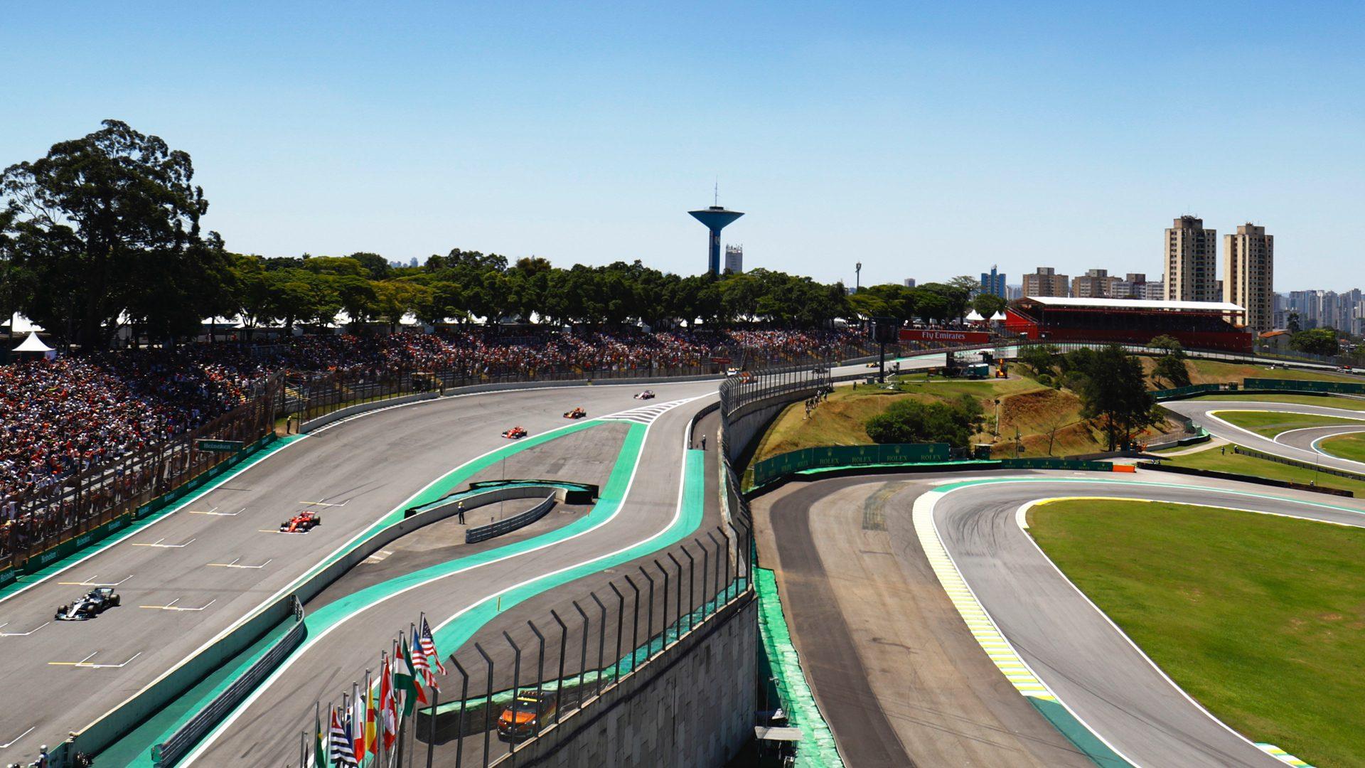 Formule 1 GP Bresil circuit
