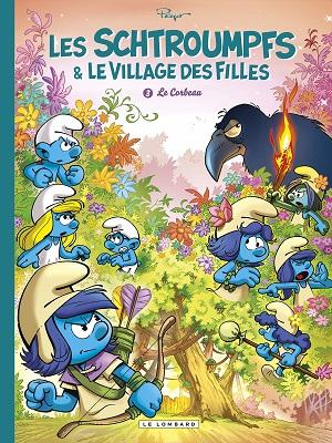les-schtroumpfs-et-le-village-des-filles-le-corbeau-le-lombard