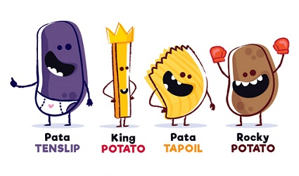 jeu-because-potatoes-widyka-personnages-accessoires
