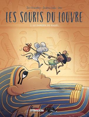 les-souris-du-louvre-t2-damier-babel-delcourt