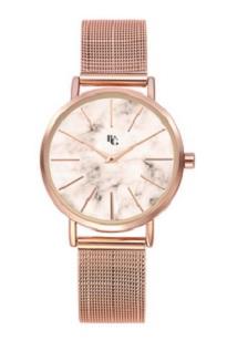 montre-BG-Cleor-acier-rose