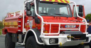 unimog camion de pompier