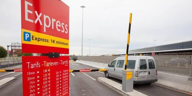 parking aeroport de Charleroi