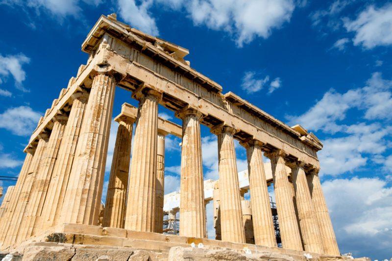 acropole du Parthénon d'Athènes