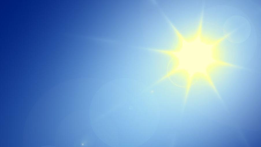 Le soleil et le ciel