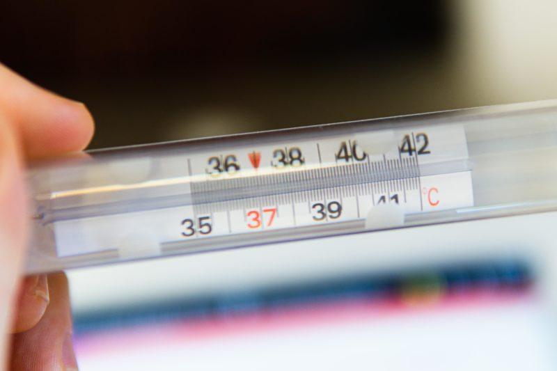 thermomètre à mercure