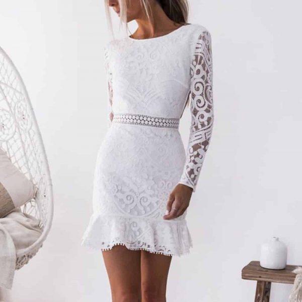 Où porter une robe de soirée blanche