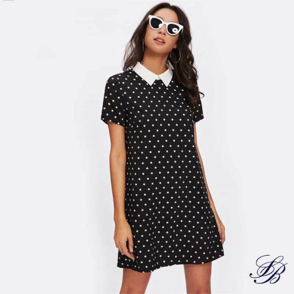 accessoiriser une robe blanche et noire 2