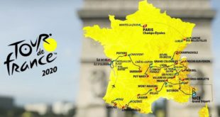 carte_tour_de_France 2020 reporté