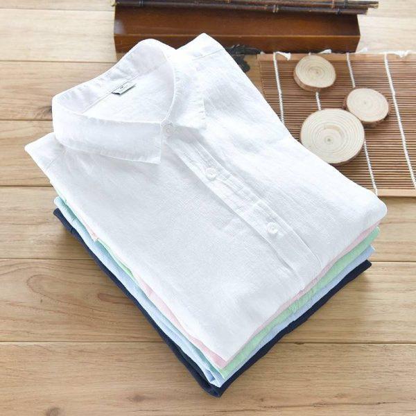 chemise blanche vintage