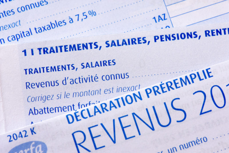 declaration de revenue