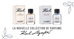 Parfums Karl Lagerfeld nouvelle collection
