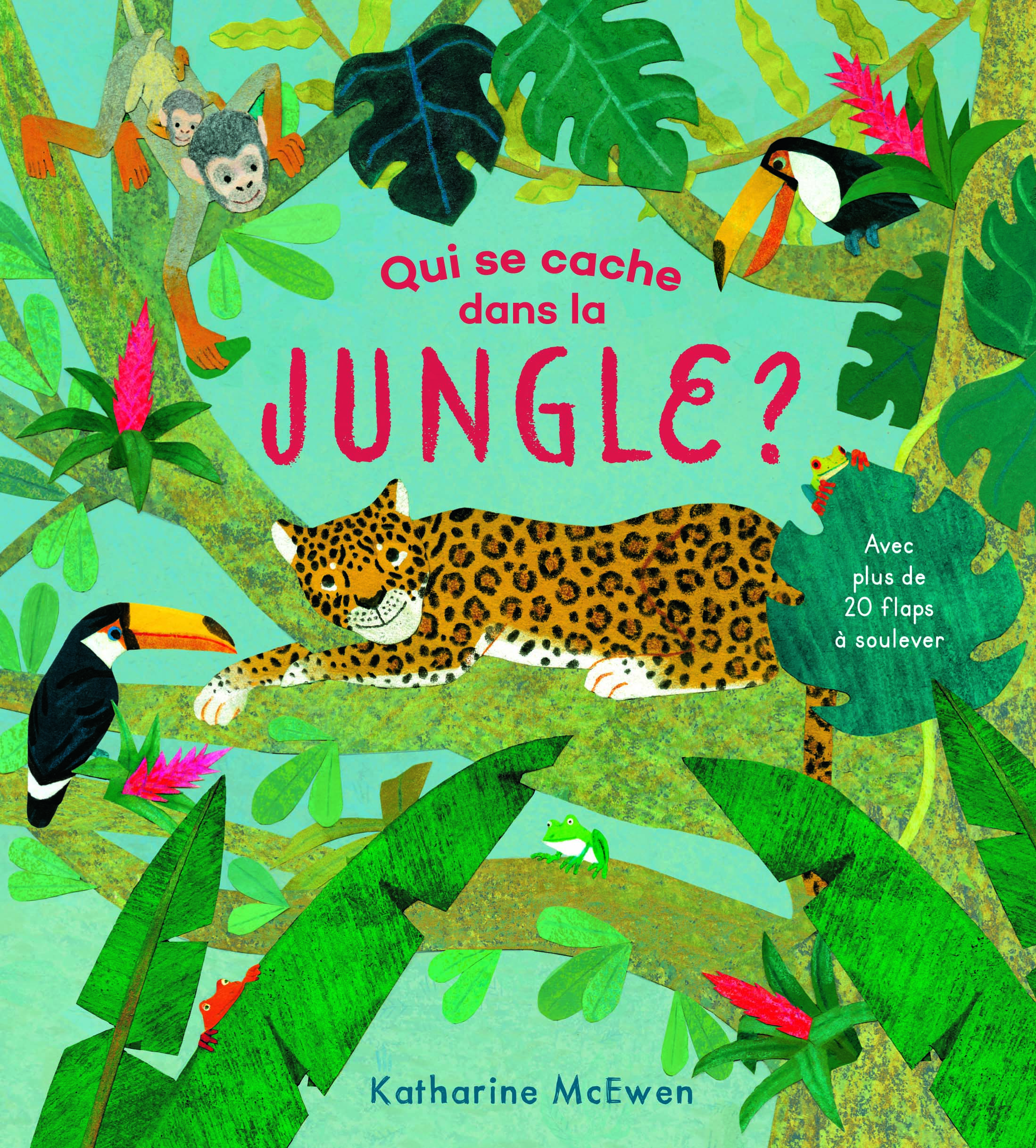 Qui se cache dans la JUNGLE