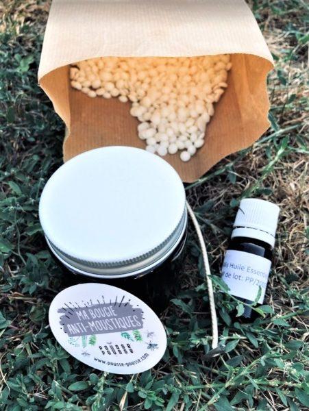 Box Pousse Pousse kit bougie anti moustiques