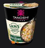 Nouilles instantanées Tanoshi Miso Légumes
