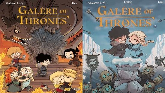 Galère of Thrones T2 : Délires assurés chez Jungle Éditions