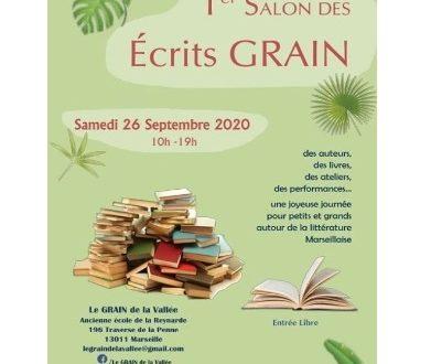 1er salon du livre des Ecrits Grain à Marseille