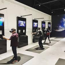 salon VR jeu d'arcade