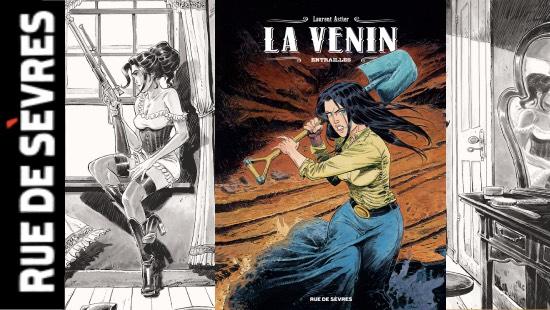 La venin Tome 3 : Entrailles – Rue de Sèvres