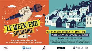 Nice : un grand week-end solidaire les 31 octobre et 1er novembre