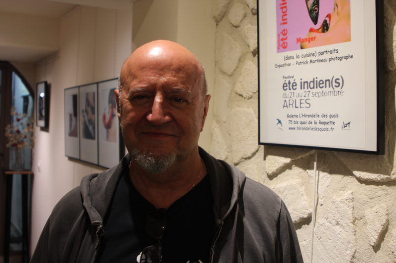 Patrick Martineau à Arles