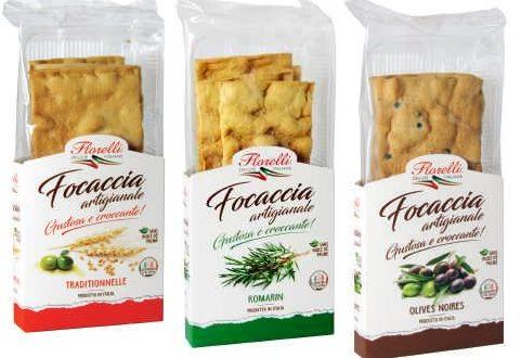 Florelli – Trois nouvelles Focaccia artigianale croustillantes