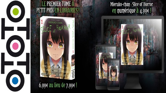 Mieruko-chan : Slice of horror – Ototo Manga