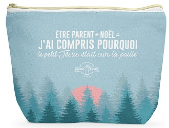 Parent épuisé – La box de Noël