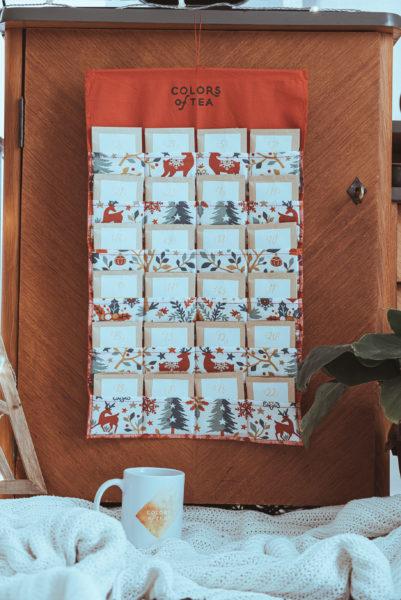 calendrier de l'avent 2020 colors of tea