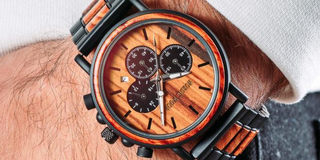 Une montre en bois : Un cadeau durable et écologique